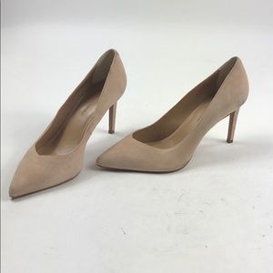 Banana Republic 9.5 Rose Pink Heels A90